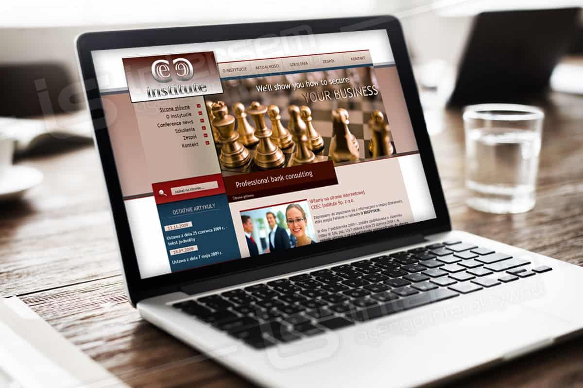 Strona internetowa - CEEC Institute - Szkolenia dla banków