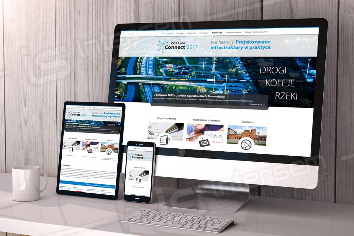 Strona internetowa - Konferencja CGS - Projektowanie infrastruktury w praktyce