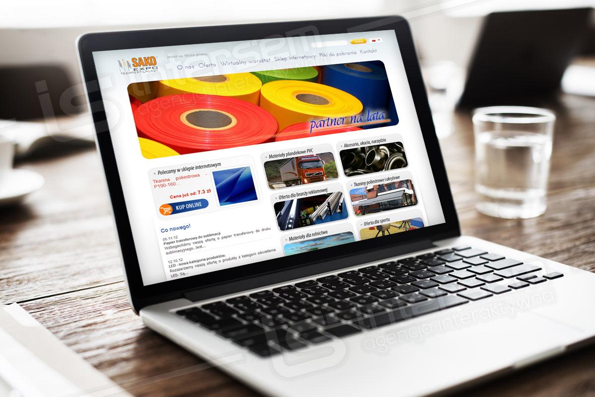 SAKO-EXPO - strona i sklep internetowy