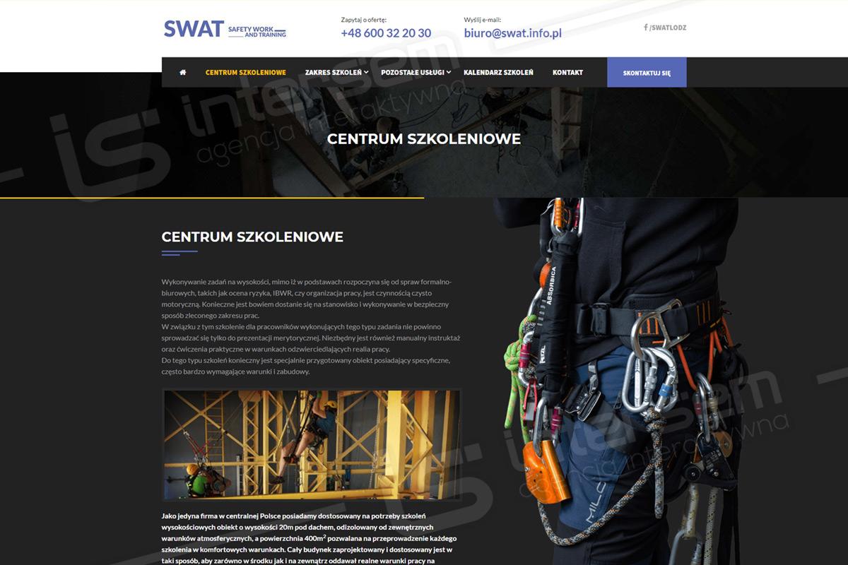 SWAT - Szkolenia alpinistyczne, uprawnienia wysokościowe