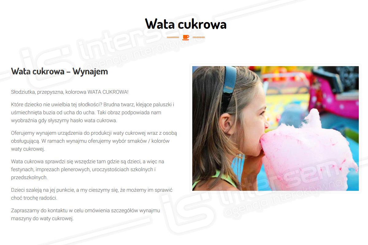 KaruzelaAtrakcji.pl - Wata cukrowa