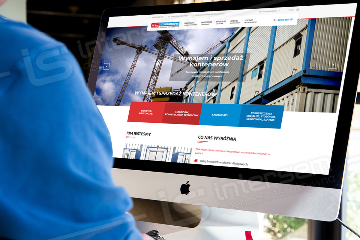 GS Containers - Wynajem i sprzedaż kontenerów
