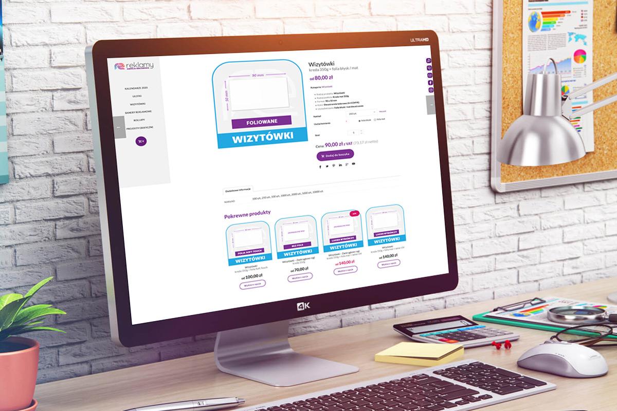 RZ Reklamy agencja reklamowa, studio graficzne i drukarnia online.